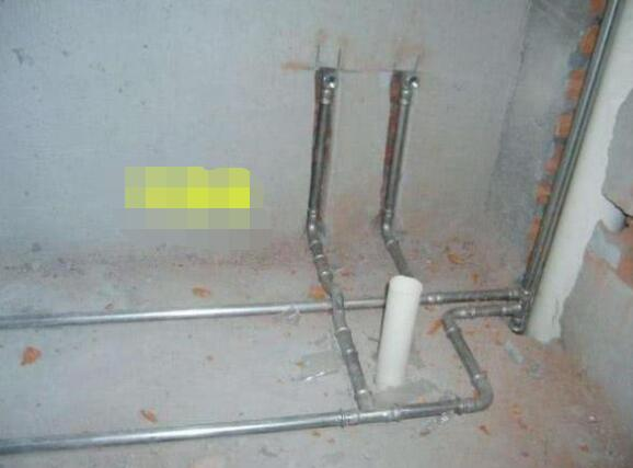 Stainless steel pipes in decoration