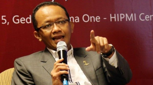 Chairman of Indonesia Investment Coordinating Board Bahlil Lahadalia