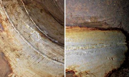 Internal corrosion of 2205 pipeline after 500 days