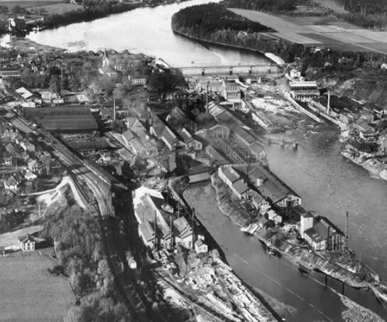Avesta Ironworks in 1930, located in Avesta, Sweden, History Of Duplex Stainless Steel