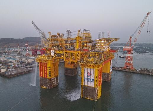 China National Offshore Oil Industry Adds Heavy Equipment